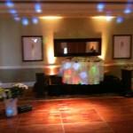 Dance lighting for the evening