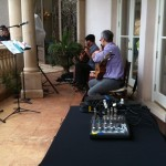 Coordinating sound with musicians