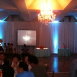 8' x 8' projection screen