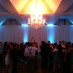 Music, lighting and dancing