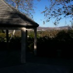 Gazebo outside Summit House