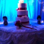 Cake with Asian Dolls